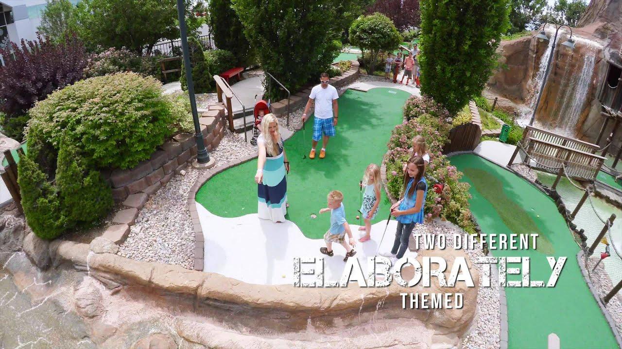 mini golf boondocks food u0026 fun youtube