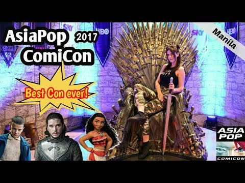 BEST COMIC CON EVER! - AsiaPop ComiCon 2017 Manila | Vlog