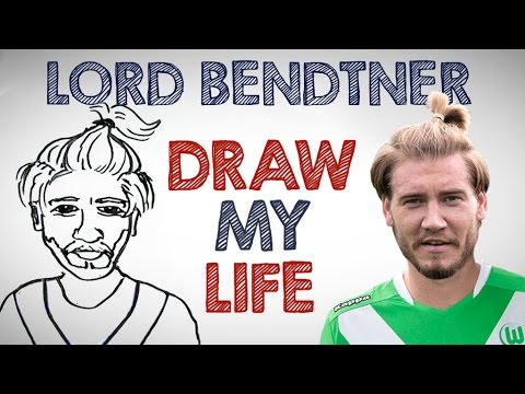 Lord Nicklas Bendtner | Draw My Life