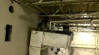 Mad dog HVAC demolition