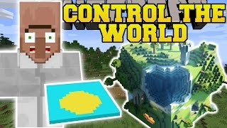 Minecraft: CONTROL THE WORLD MOD (CONTROL WEATHER, CONTROL TIME, SUPER JUMP, & MORE!) Mod Showcase,