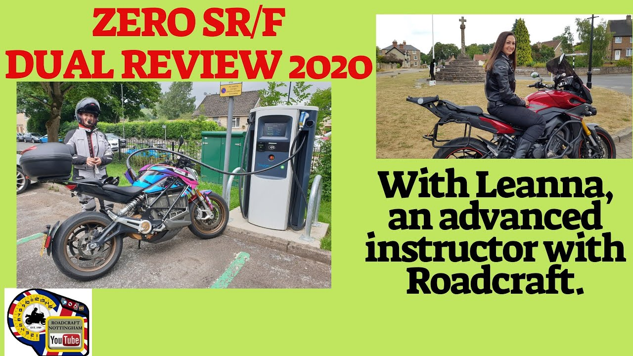Zero SR/F electric motorcycle dual review:Something different. 2020