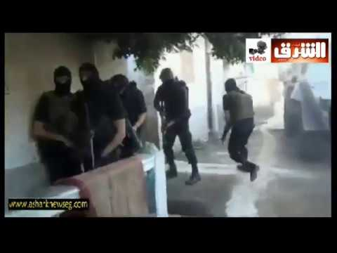 Egyptian police raid ISIS terrorists apartments in sinai