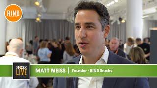 RIND Snacks Founder Speaks on NOSH Live Experience