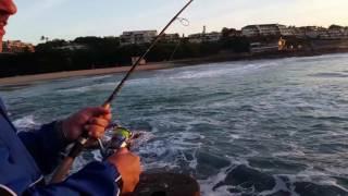Salmon on ultra light tackle