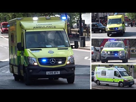 British Emergency Services Responding - BEST OF MARCH + APRIL 2017 - PART 2