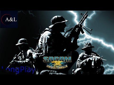 SOCOM - U.S. Navy SEALs Fireteam Bravo 3 - LongPlay [4K:60FPS]🔴