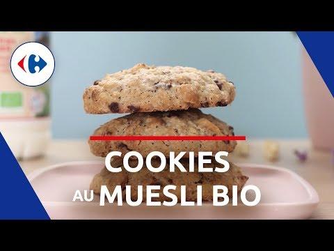 Cookies au Muesli Bio