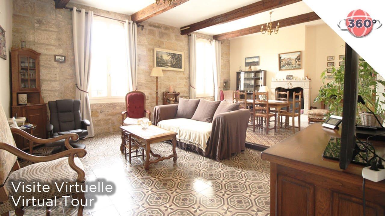 Immobilier visite virtuelle 360 maison servian ref for Visite virtuelle maison moderne