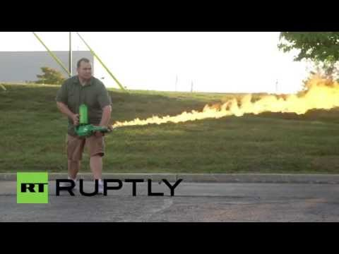 USA: Try This FLAMETHROWER, On Sale For Domestic Use Despite 1980 Military Ban