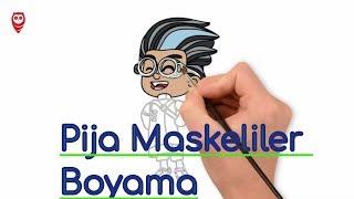 All Clip Of Pijamaskeliler Boyama Mxclipcom