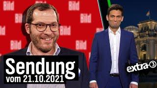 Extra 3 vom 21.10.2021 im Ersten | extra 3 | NDR
