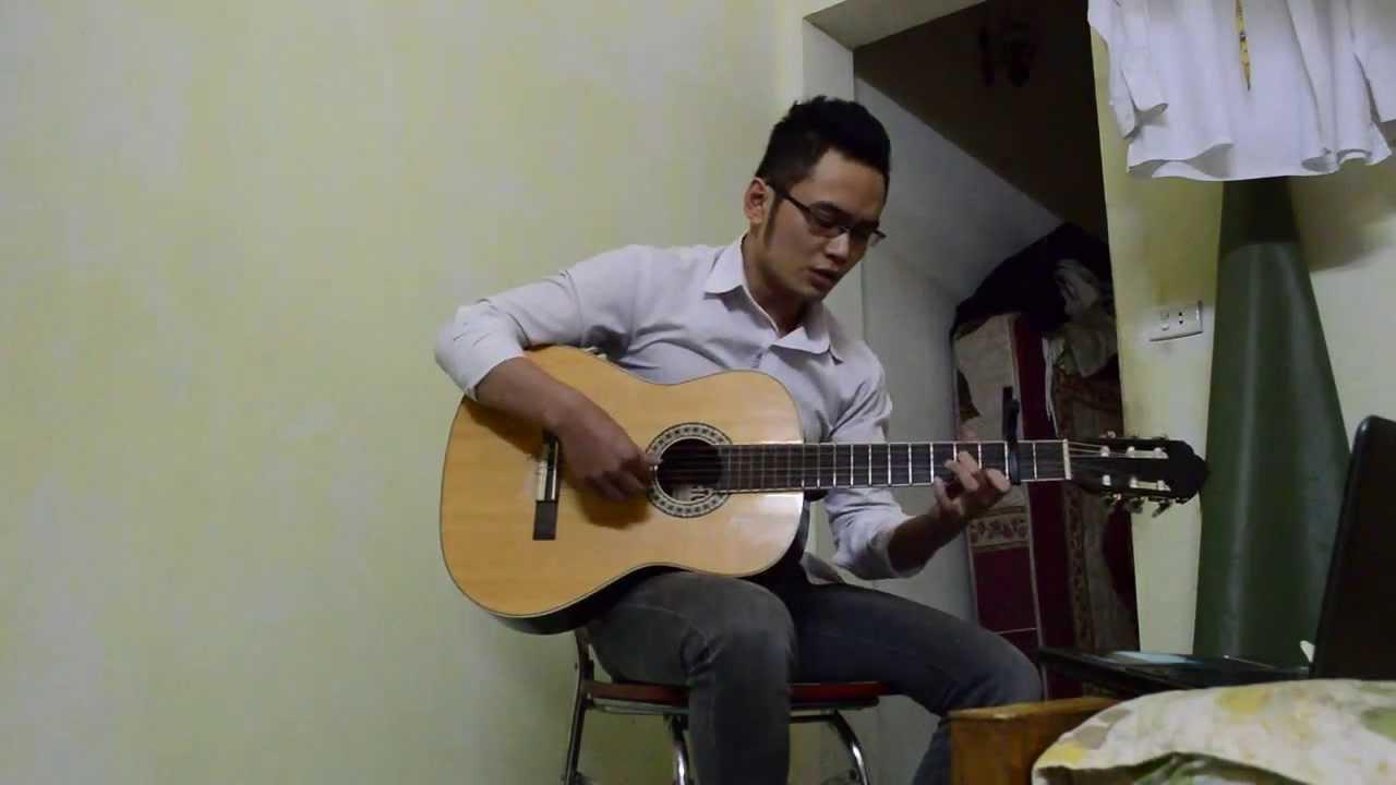 Hát với dòng sông guitar Hoang Vu YouTube