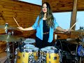 SIMPLE MINDS - DON'T YOU (FORGET ABOUT ME) - DRUM COVER by CHIARA COTUGNO