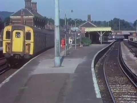 Dorking station 1972