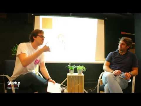 Startup Grind Madrid hosts Marcos Alves (El Tenedor)
