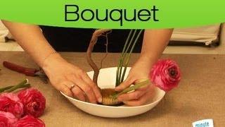 Comment faire un bouquet floral façon Ikebana