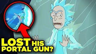 Rick and Morty 5x04 REACTION: Rick Lost his Portal Gun?   Ricksplained