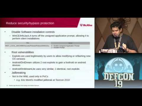 DEFCON 19 Mobile App Moolah Profit taking with Mobile Malware (w speaker)