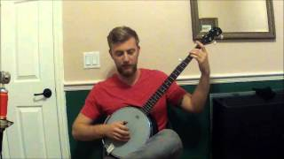 BANJO LESSON - Cripple Creek Banjo Lesson Full Song