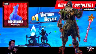 Three Getaway Wins - Blackheart stage 6 - Star Wand - This Fortnite Father is Fifty Camper Cralin