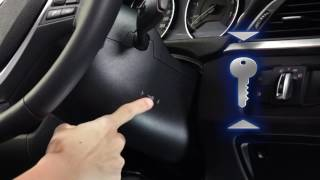 BMW 7 Series - Starting Vehicle when the Key Fob is Out of Battery