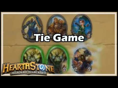 [Hearthstone] Tie Game