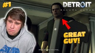 THIS GUY IS A BAG OF FUN!!! [DETROIT BECOME HUMAN PART 1]