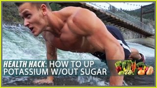 How to Boost Potassium Levels Without Sugar: Health Hack- Thomas DeLauer