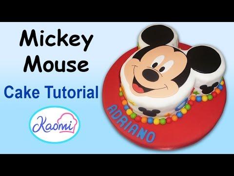 Mickey Mouse Cake / Torta de Mickey