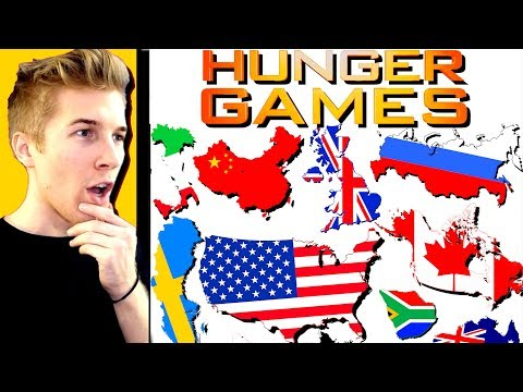 Country Hunger Games Simulator - Which Nation Will Control The World Map!