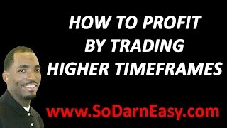 Forex Trading: How To Profit Trading Higher Time Frames - Yusef Scott