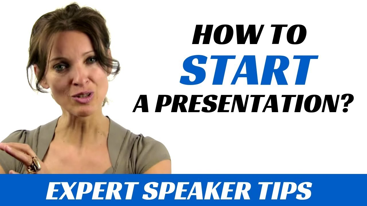 Download How to start a presentation