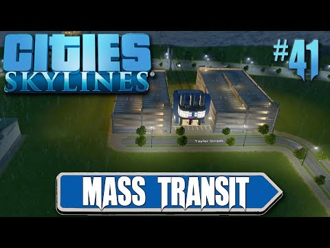 Cities Skylines: Mass Transit #41 Inter-City Cable Car Connections