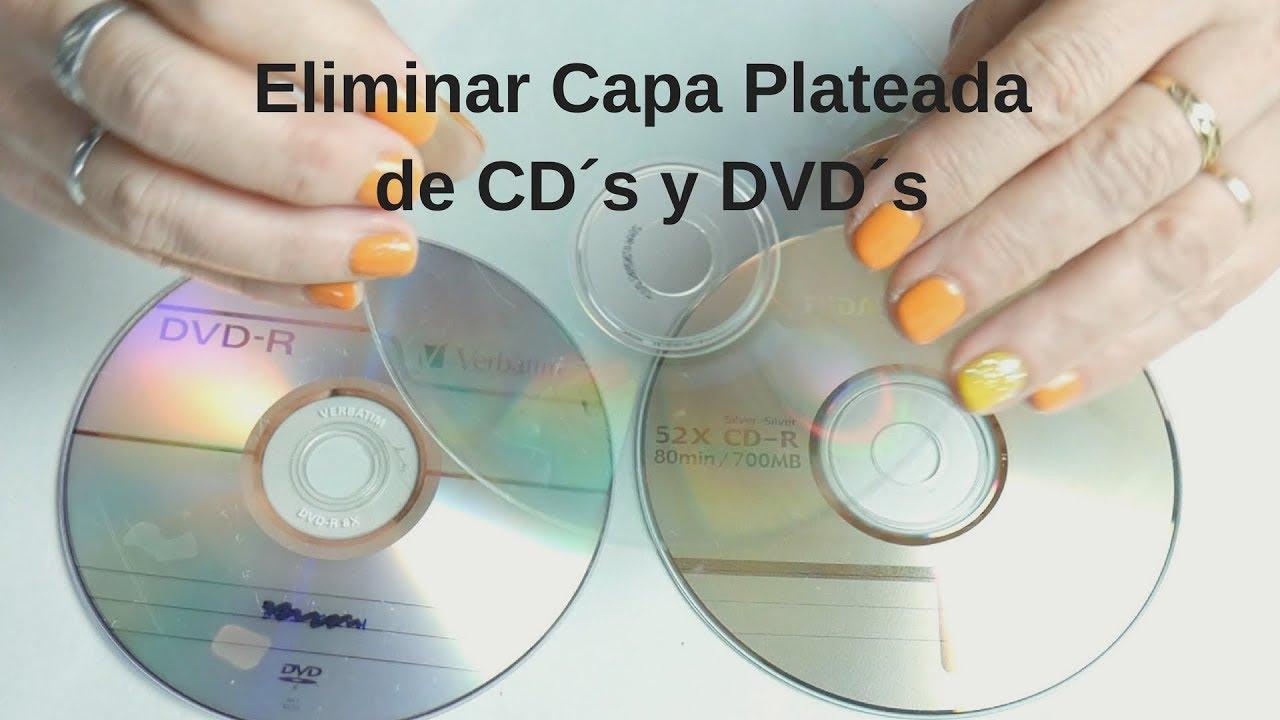 Como quitar la pel cula plateada de cd s y dvd s youtube - Como quitar la carcoma ...