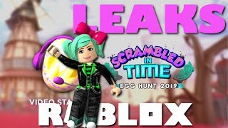 *VIDEO STAR EGG*MORE Roblox EGG HUNT 2019 LEAKS live SallyGreenGamer