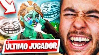 TROLEANDO AL ÚLTIMO JUGADOR DE MI PARTIDA EN FORTNITE - TheGrefg