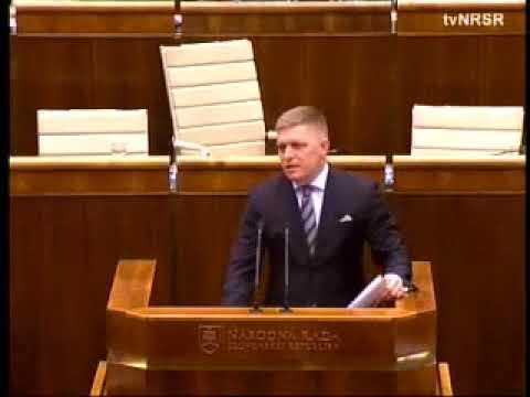 2017.12.05 Róbert Fico v Národnej rade Slovenskej republiky