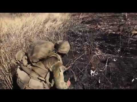 U.S. Marines and Australian soldiers destroy the enemy during assault drill