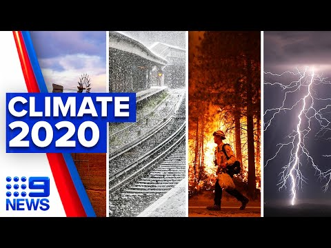 2020 weather extremes break climate records | 9 News Australia thumbnail