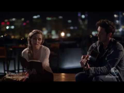 Scarlett (Clare Bowen) and Gunnar (Sam Palladio) Sing