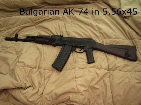 How to build an AK-74 in 5.56x45 with a bulgarian AK-74 parts kit