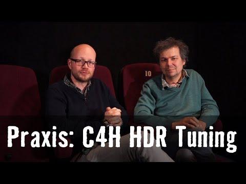 Praxistipp: Sony VW260 und VW360  mit hellem HDR Bild Dank C4H Tuning