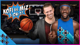 In a first for UpUpDownDown, The Miz a.k.a. THE MONEYMAKER and Kofi...