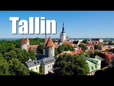 Tallinn City Tour. Ciudad vieja de Tallin. Estonia.