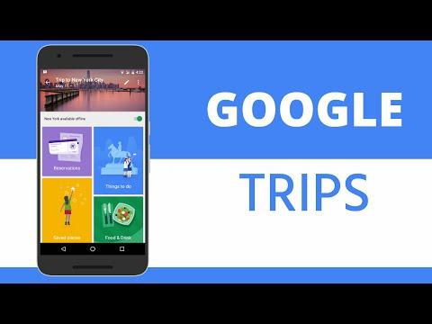 Google Trips [NEW APP]