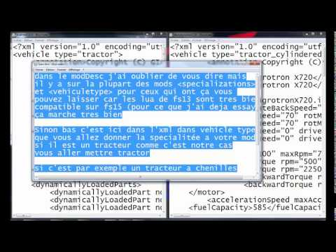 Tutoriel comment convertir un mod de fs13 a fs15 team transport 39 s modd - Comment changer un skimmer ...
