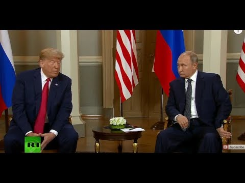 PutinTrump meeting in Helsinki: Bilateral talks kick off