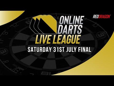 Online Darts Live League Saturday 31st July 2021 Final