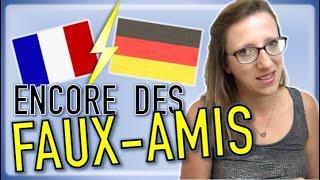 🇩🇪💔🇨🇵 encore 10 FAUX-AMIS entre le français et l'allemand